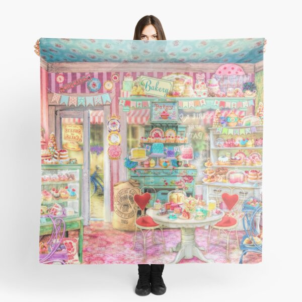 The Little Cake Shop Scarf