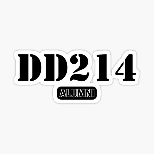 DD 214 Alumni Sticker