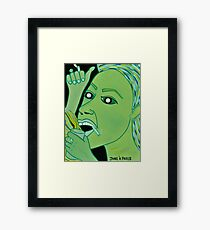 WINDMILL OF POLITICAL HATE Framed Print