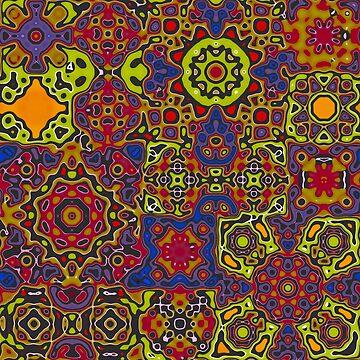Funky pattern 1 by bywhacky