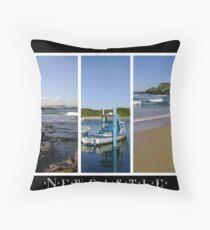 Newcastle - Coastal Montage Throw Pillow