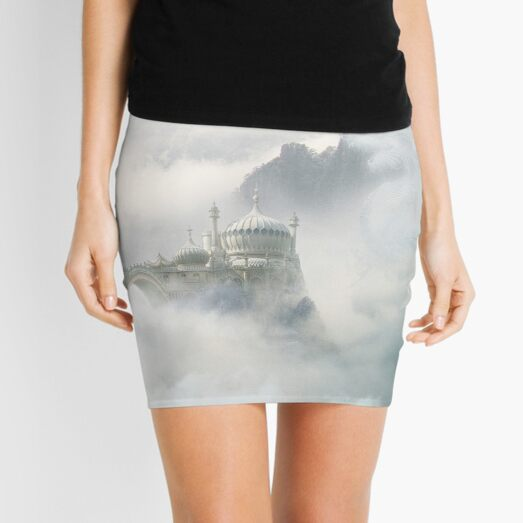 Palace of the Sky Dragons Mini Skirt