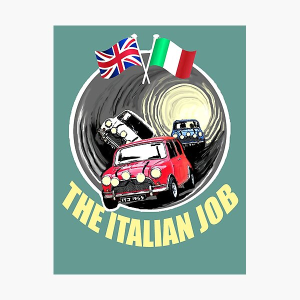 The Italian Job  Photographic Print