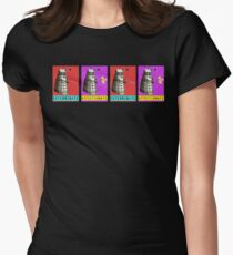 Affectionate Dalek Women's Fitted T-Shirt