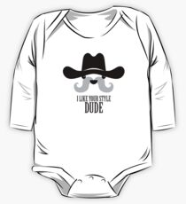 The Big Lebowski - Sam Elliott - I Like Your Style Dude One Piece - Long Sleeve