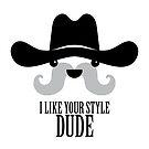The Big Lebowski - Sam Elliott - I Like Your Style Dude by MovieCuties