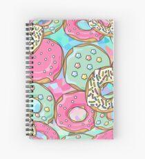 Kawaii - Donut livin! かわいい - どぬと いゔいん! Spiral Notebook