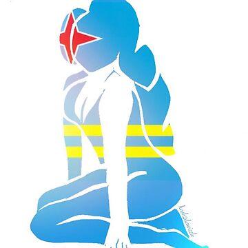 Custom Stencil Woman (Aruba)  by kash2dawizzle