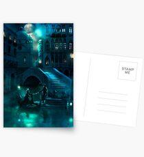 Venice Moon Postkarten