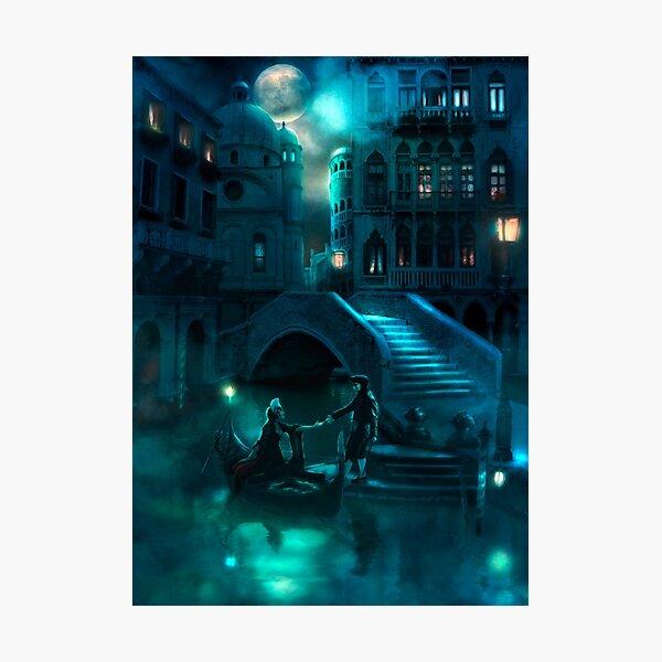 Venice Moon Photographic Print
