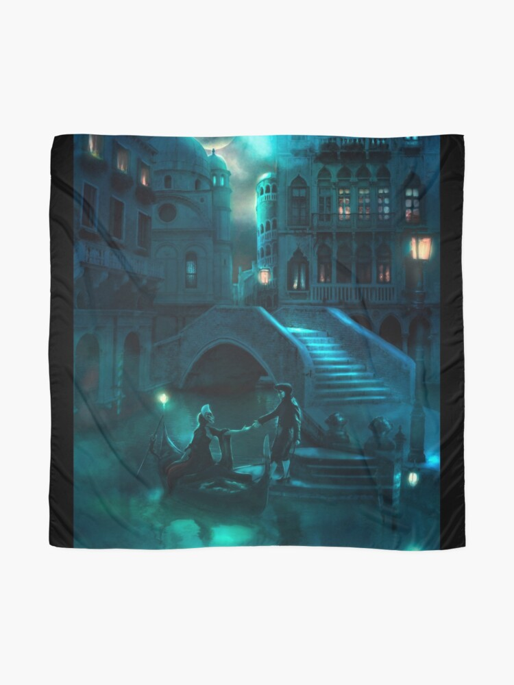 Alternate view of Venice Moon Scarf