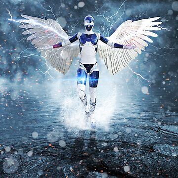 Angel robot by GEN Z by Gen-Z