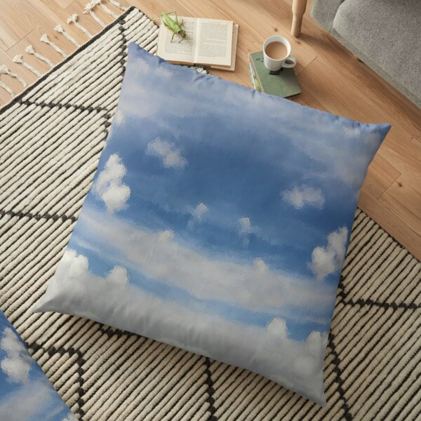 Fluffy Clouds Floor Pillow
