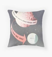 NSA Poster: Outer Space Floor Pillow