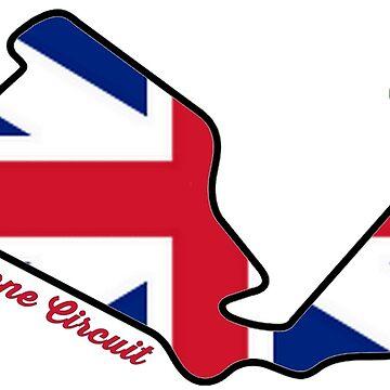 Silverstone Circuit by alissarmanc
