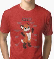 Fursuit Anatomy Tri-blend T-Shirt