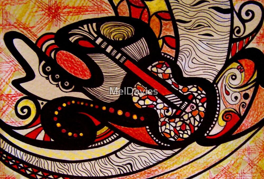 Rhythm in Red by MelDavies