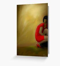 Corel painter Greeting Card