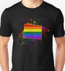 Colorado Gay And Lesbian Rainbow Flag T - Shirt LGBTQ Gift Unisex T-Shirt