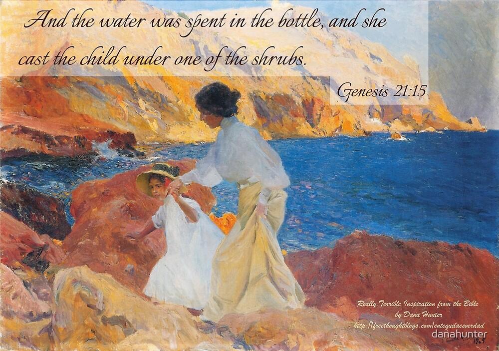 Genesis 21:15 with Joaquín Sorolla's