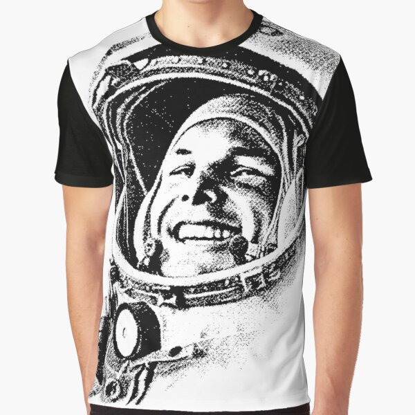 YURI GAGARIN-CCCP 2 Graphic T-Shirt