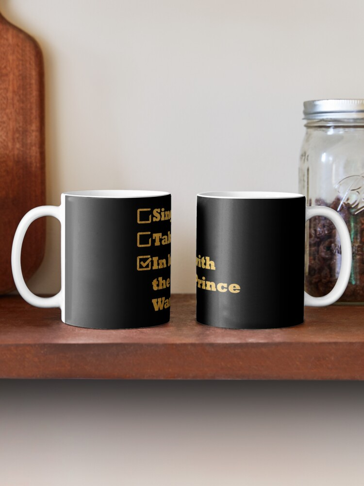 Alternate view of Single Taken In love with the 4th prince Wang So gold Mug