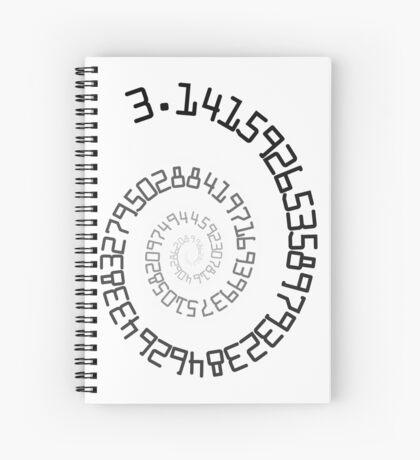 PI Spiral 004 Sticker Spiral Notebook