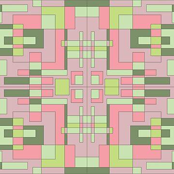 Geometric pattern  by Lenka24
