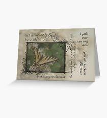Gentleness Greeting Card