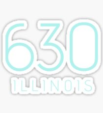 ILLINOIS 630 • ROBIN Sticker