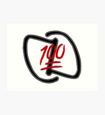 DDA Brand Logo 100 Art Print