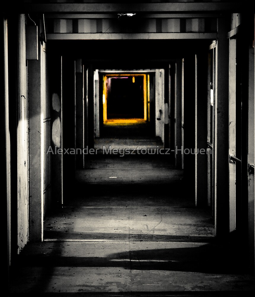 Tunnel to another dimension by Alexander Meysztowicz-Howen