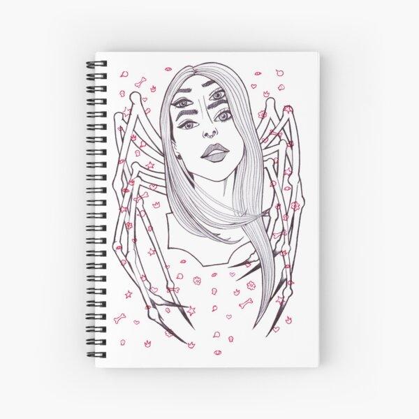 Spider Girl Spiral Notebook