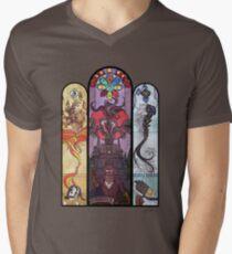 Yharnam Stained Glass Men's V-Neck T-Shirt