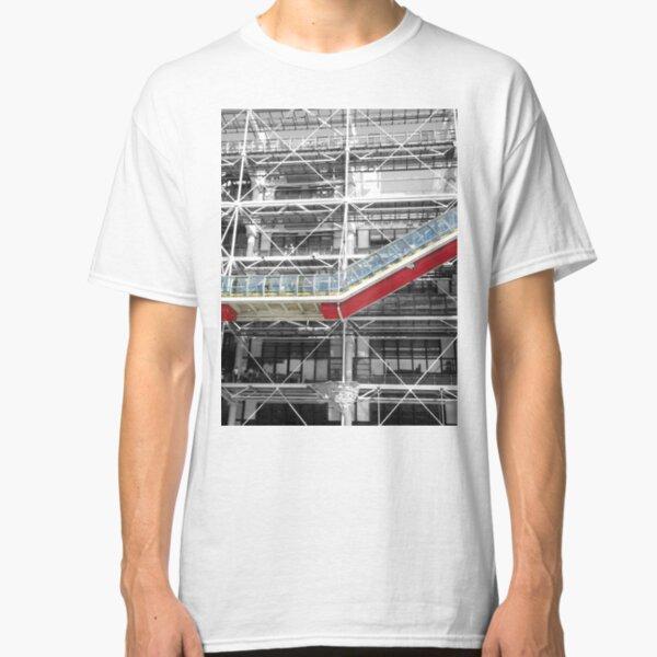 Red Slash no. 3, Centre Pompidou Classic T-Shirt