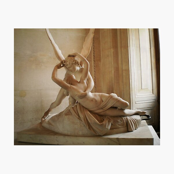 Cupid and Psyche Photographic Print