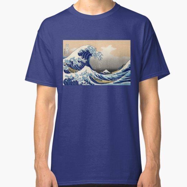 Hiroshige The Great Wave Off Kanagawa Japanese Woodcut Classic T-Shirt