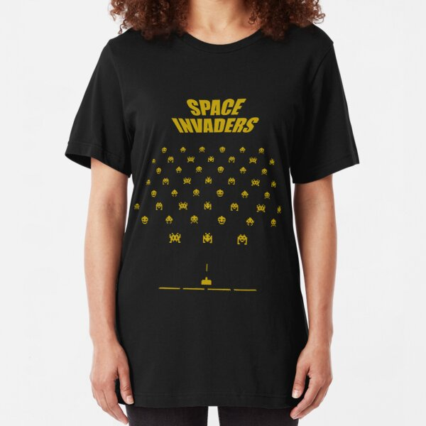 Space Invaders Slim Fit T-Shirt