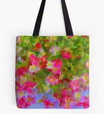 Beautiful Hanging Pink Floral Tote Bag