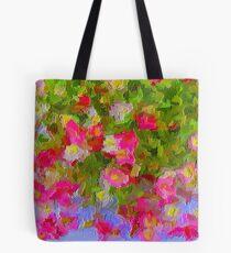Beautiful Hanging Pink Floral Tote Bag