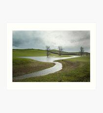 Midlands Art Print