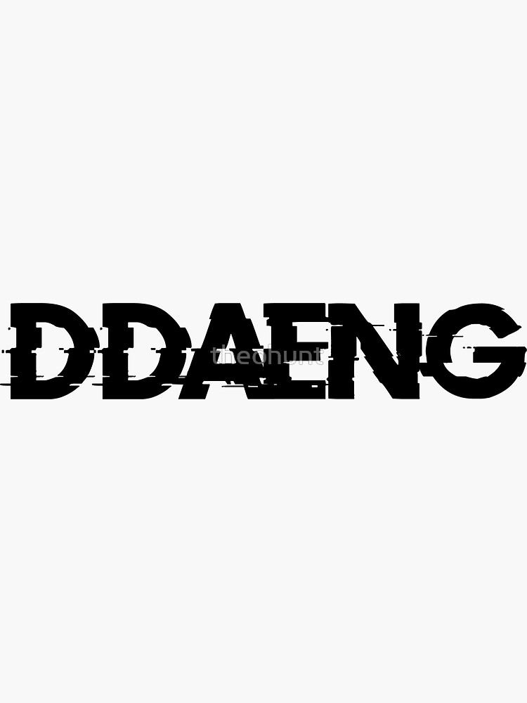 BTS DDAENG de theohunt