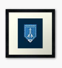 Pathfinder Crest Framed Print