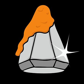 Nacho Cheese Covered Diamond by wrestletoys