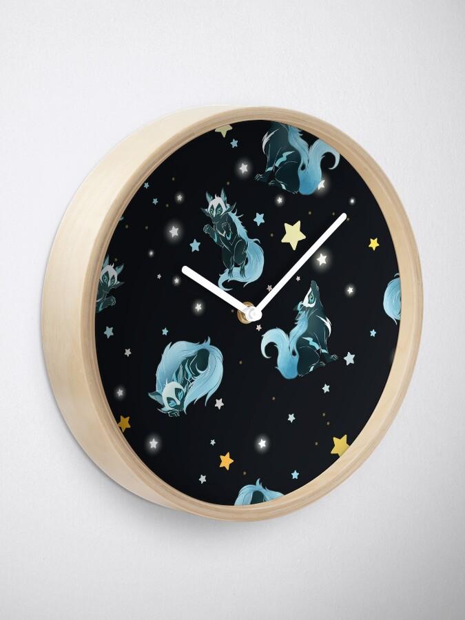 Alternative Ansicht von Kosmischer Wolf Uhr