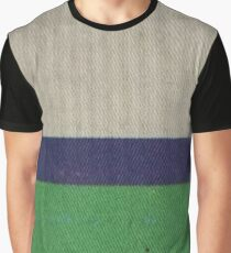 CREAM BLUE BAND GREEN Graphic T-Shirt