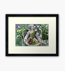 Lady Bug Angel  Framed Print