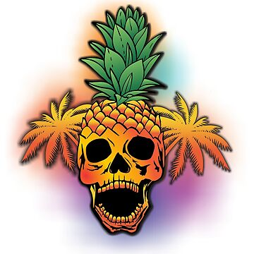 Pineapple Skull  by hrmmm