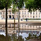 Ecole Militaire reflection by Victor Pugatschew