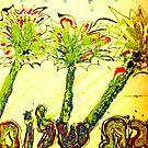 Warm Yellow Shabbat Oasis by hdettman